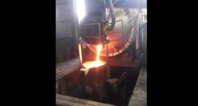 铁水出炉4