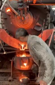 回转化铁炉